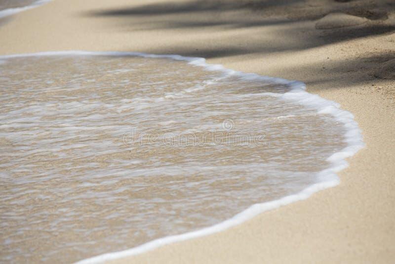 L'océan pacifique bleu Hawaï Kahala 007 images libres de droits