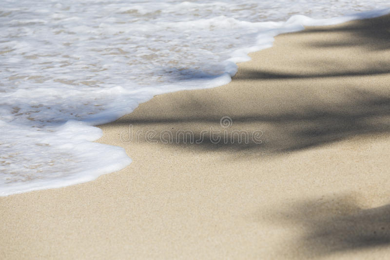 L'océan pacifique bleu Hawaï Kahala 005 photos libres de droits