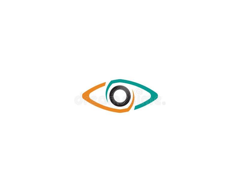 L'occhio di Horus & di x28; Occhio di Ra, Wadjet& x29; creduto dagli Egiziani antichi per avere poteri curativi e protettivi illustrazione di stock