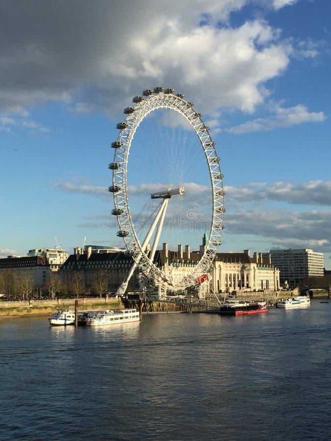 L'occhio di Londra (colorato) immagine stock