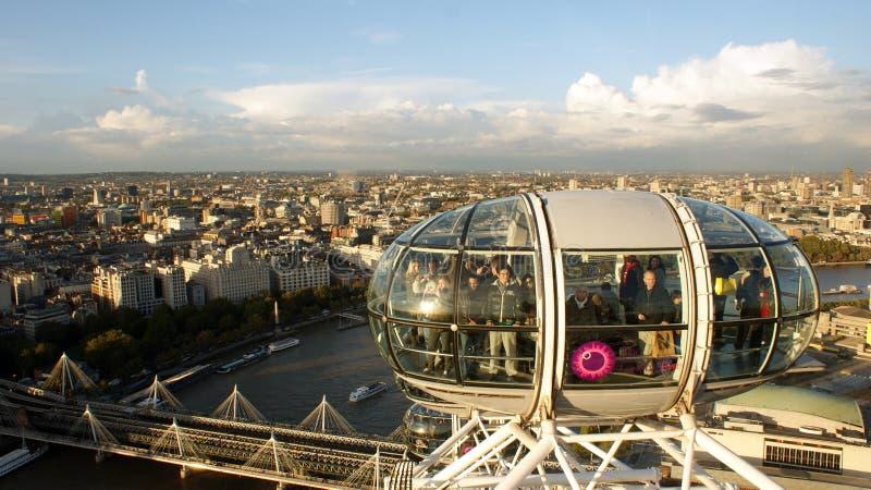 L'occhio di Londra di intrattenimenti del MERLIN immagine stock
