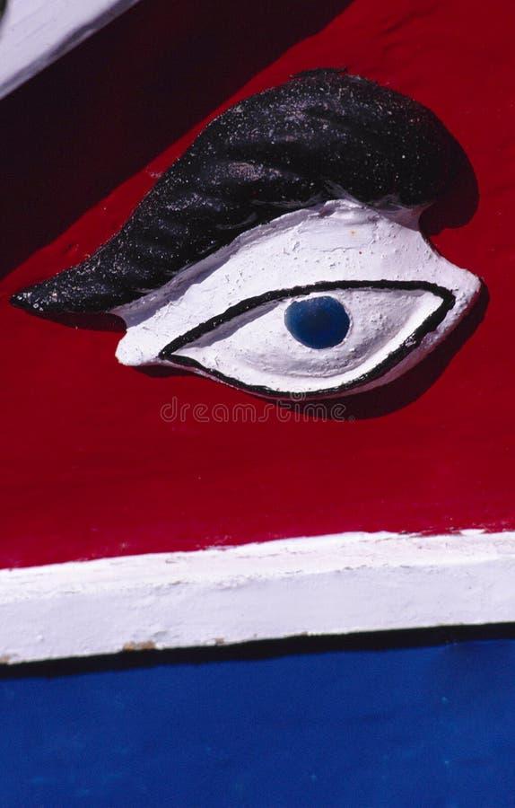 L'occhio di Osiris, Malta immagini stock libere da diritti