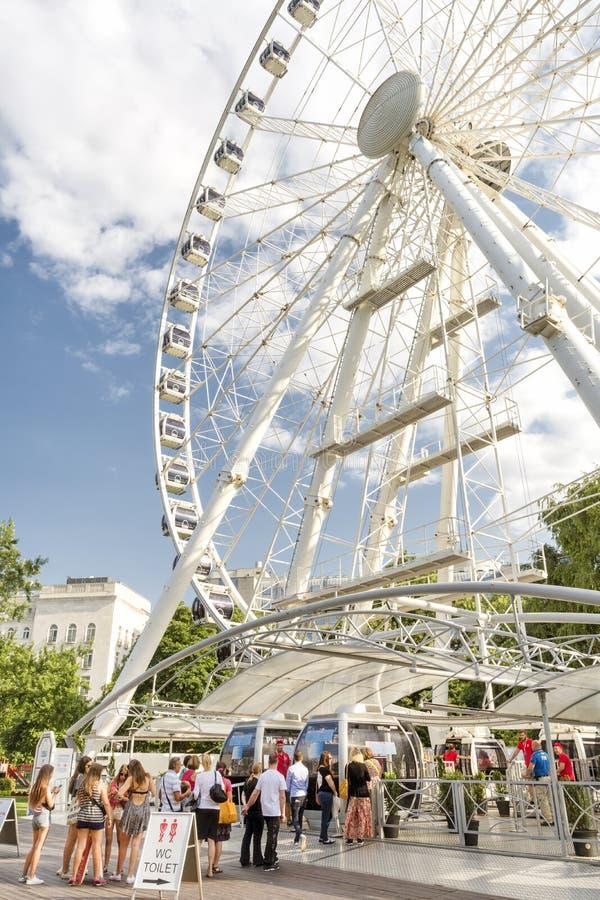 Download L'occhio Di Sziget, Budapest, Ungheria Immagine Editoriale - Immagine di gioia, esterno: 56881765