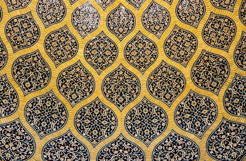 L'oeuvre d'art intérieure persane photos libres de droits