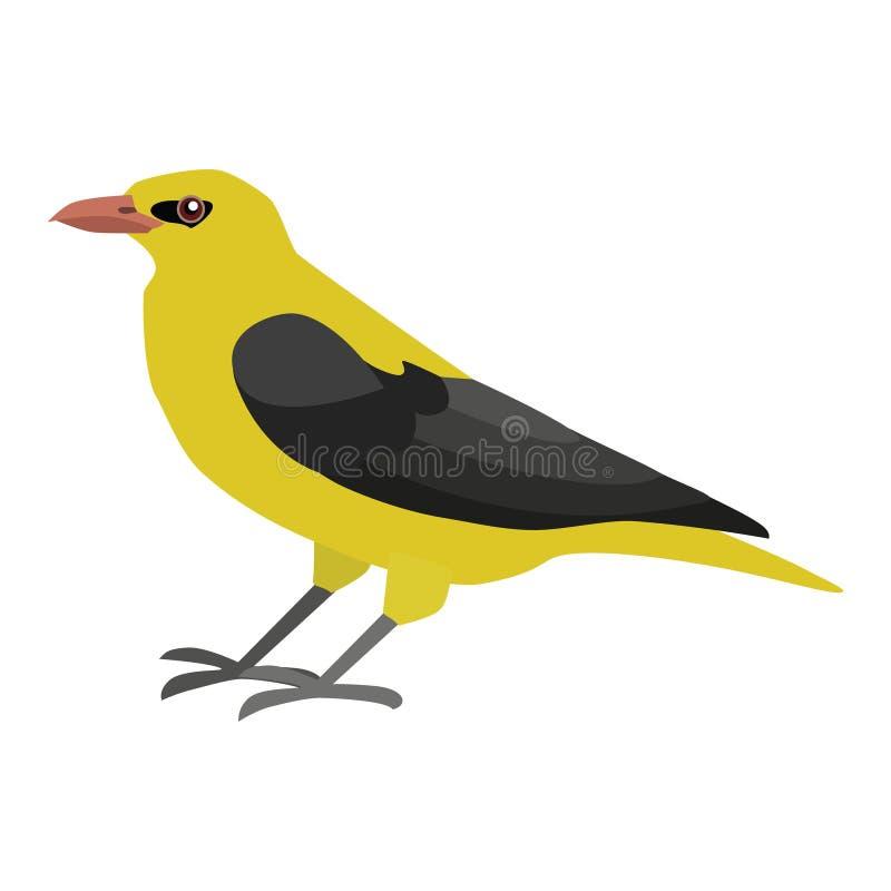 L'oiseau de prient illustration de vecteur