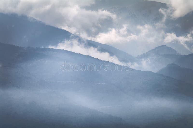 L'Olimpo - domestico dei Pieria, Grecia fotografia stock