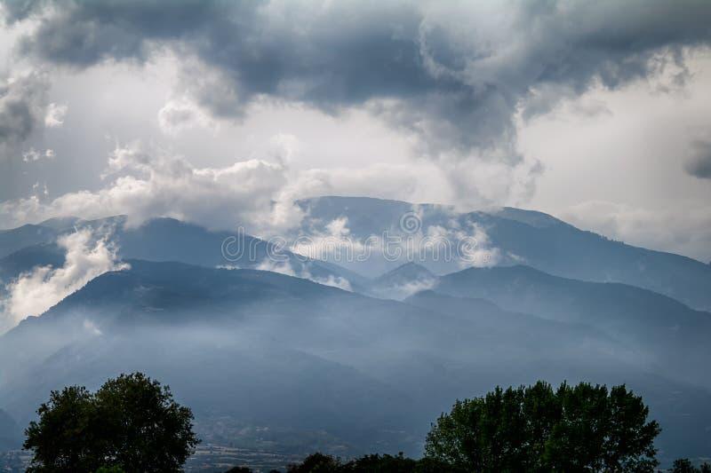 L'Olimpo - domestico dei Pieria, Grecia fotografie stock libere da diritti