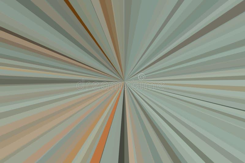 L'olive abstraite, couleur verte rayonne le fond Mod?le de faisceau de rayures Couleurs modernes de tendance d'illustration ?l?ga illustration de vecteur