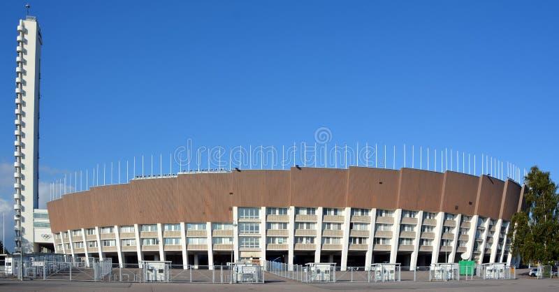 L'Olympiastadion 1952 et la tour photo libre de droits
