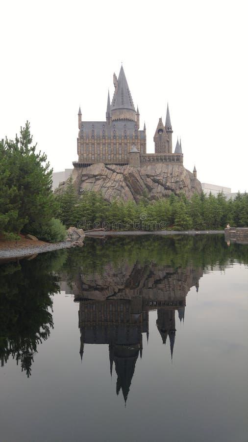 l'ombra di Hogwarts fotografia stock libera da diritti