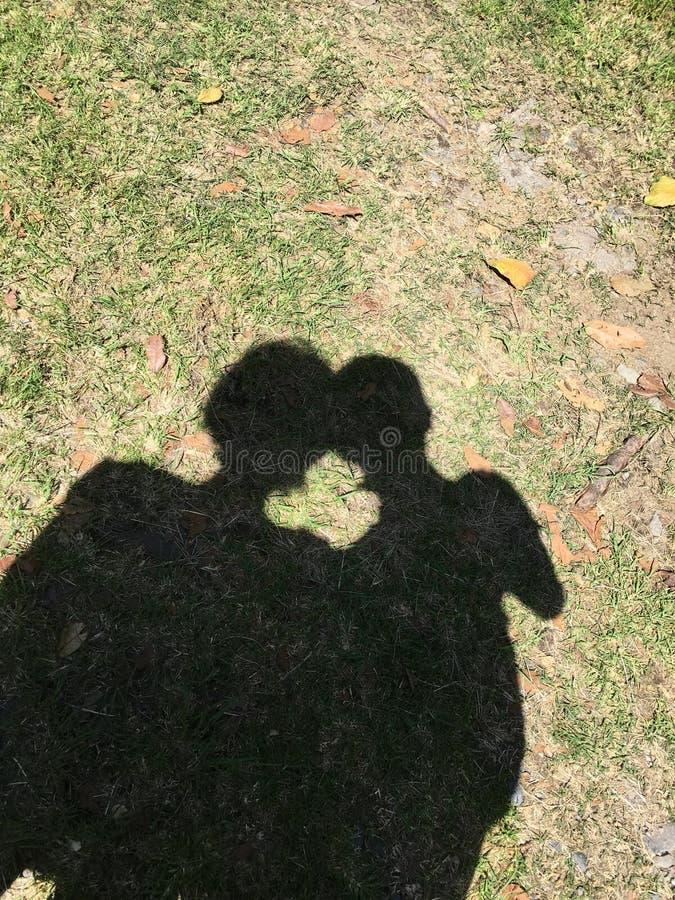 L'ombra ha preso la nostra immagine immagini stock