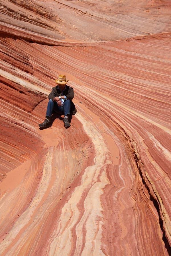 L'onde, Arizona image libre de droits