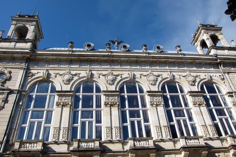 L'opéra de la ville de Ruse en Bulgarie photographie stock libre de droits