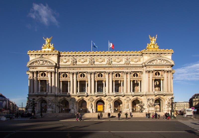 L'opéra Garnier, Paris images libres de droits