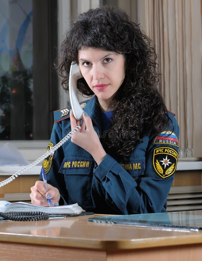 L'opérateur reçoit des services de délivrance d'appel photo libre de droits