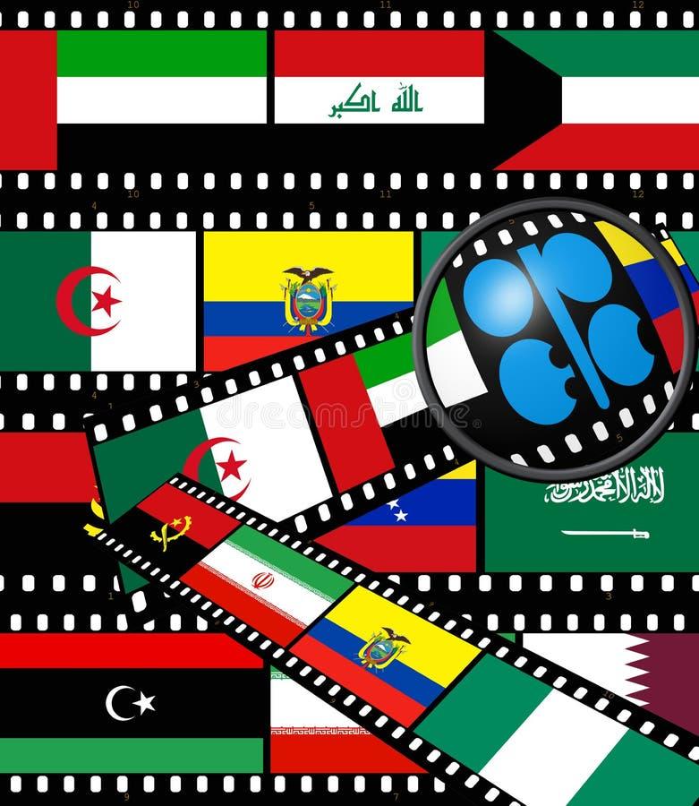 L'OPEP illustration libre de droits