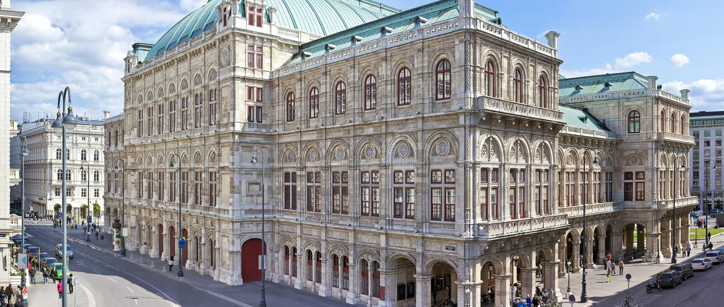 L'opera dello stato di Vienna immagine stock libera da diritti