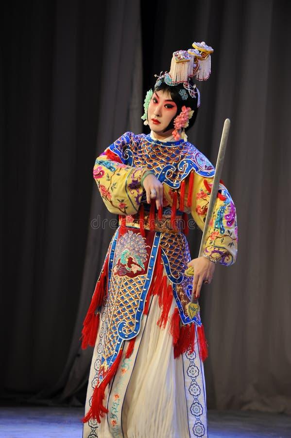 L'opera diballo-Pechino della spada: Addio al mio concubine fotografie stock libere da diritti