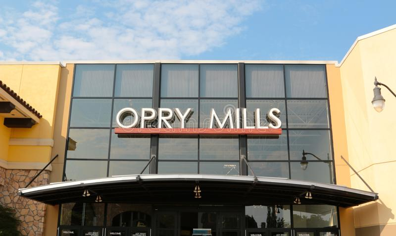 L'Opry Mills Mall, Nashville, Tennessee images libres de droits