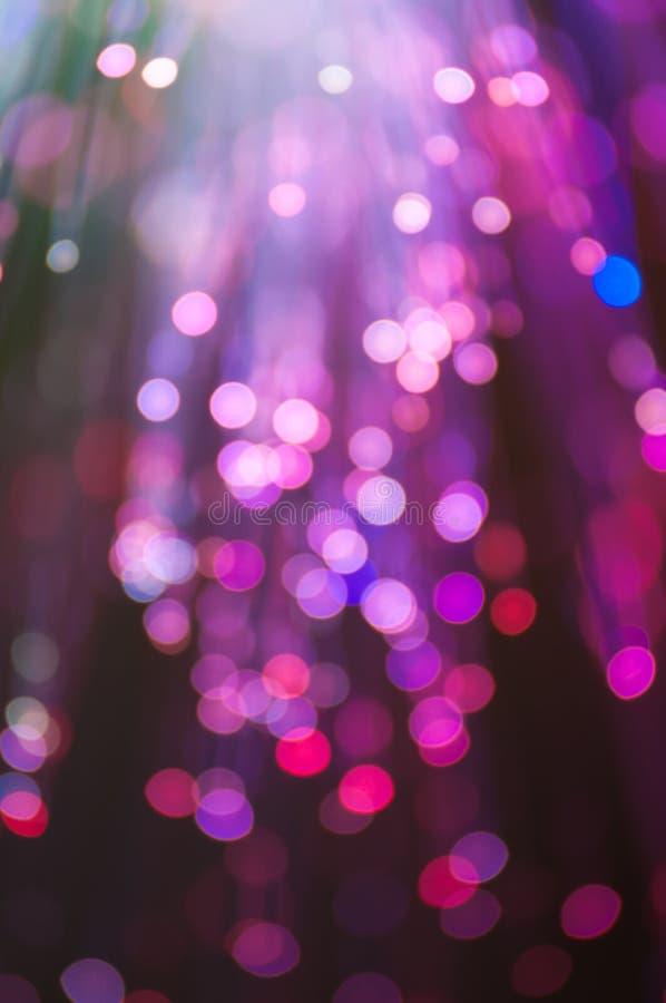 L'optique des fibres allume le fond abstrait photo libre de droits