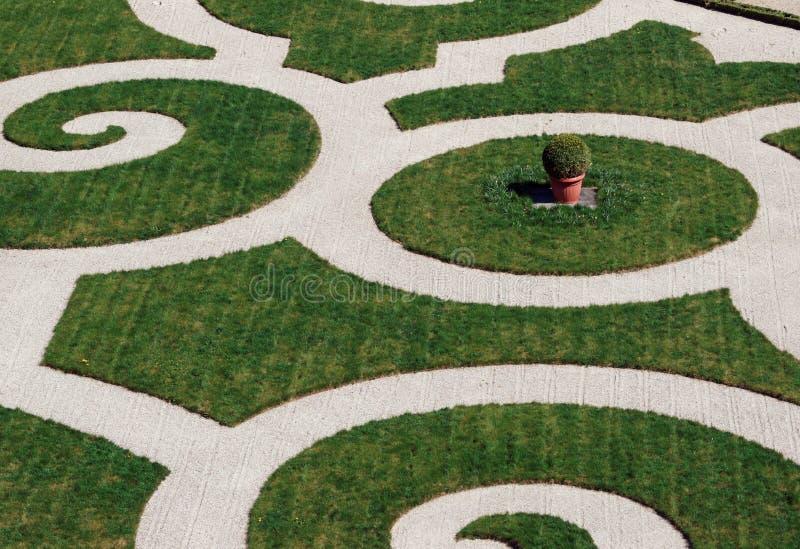 L'Orangerie dans le palais de Versailles images libres de droits