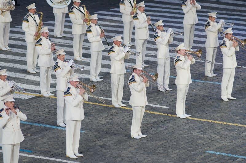 L'orchestre présidentiel photos stock