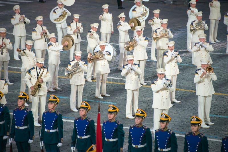 L'orchestre présidentiel photographie stock