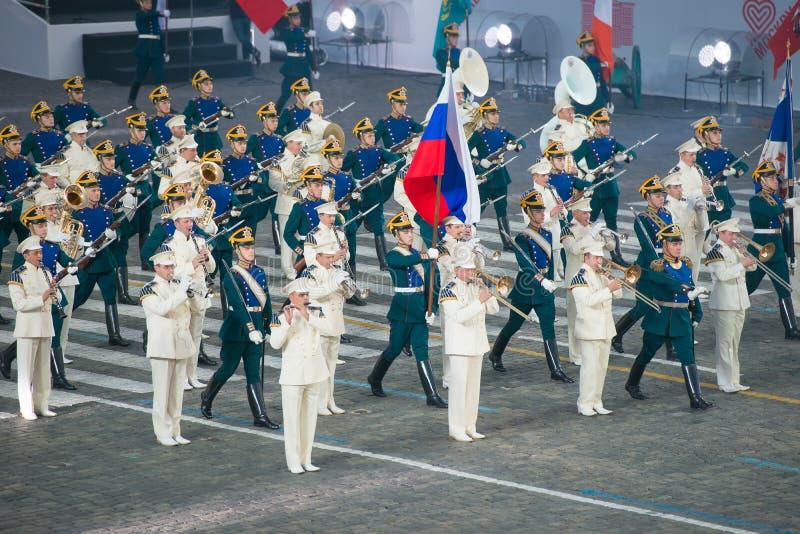 L'orchestre présidentiel image stock