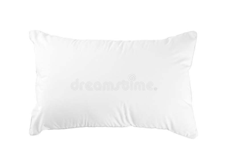L'oreiller d'hygiène a adapté votre chambre à coucher d'isolement sur le fond blanc photos stock