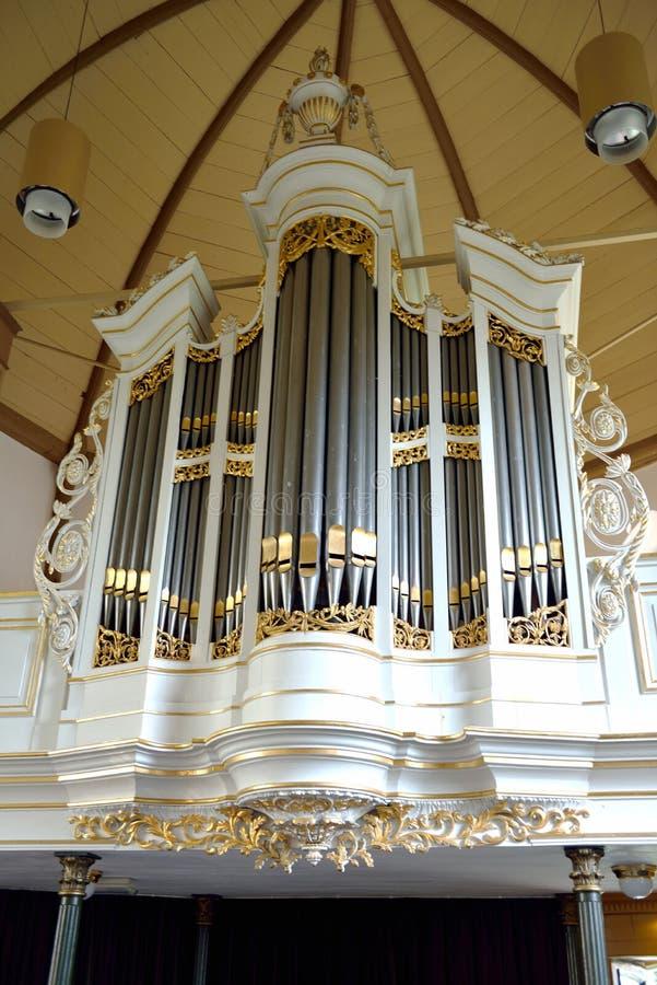 L'organo della chiesa fotografia stock libera da diritti