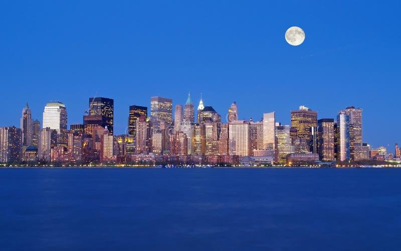 L'orizzonte di New York City immagine stock