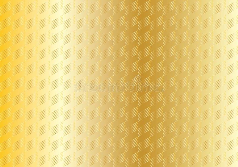 L'oro barra la struttura astratta illustrazione di stock