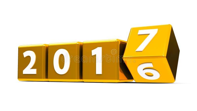 L'oro cuba 2017 illustrazione di stock