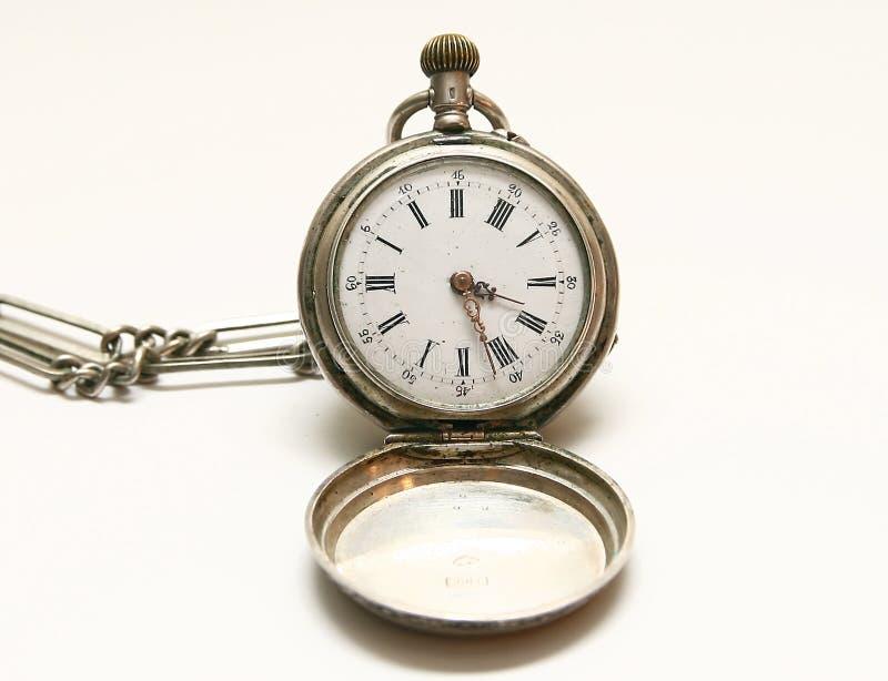 L'orologio della mano fotografia stock libera da diritti