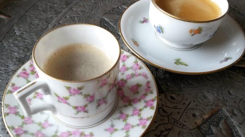 L'os fin de la Chine bombe le café image libre de droits