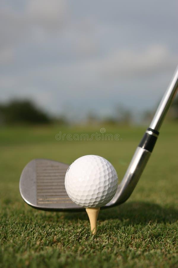 L'oscillazione di golf! fotografia stock