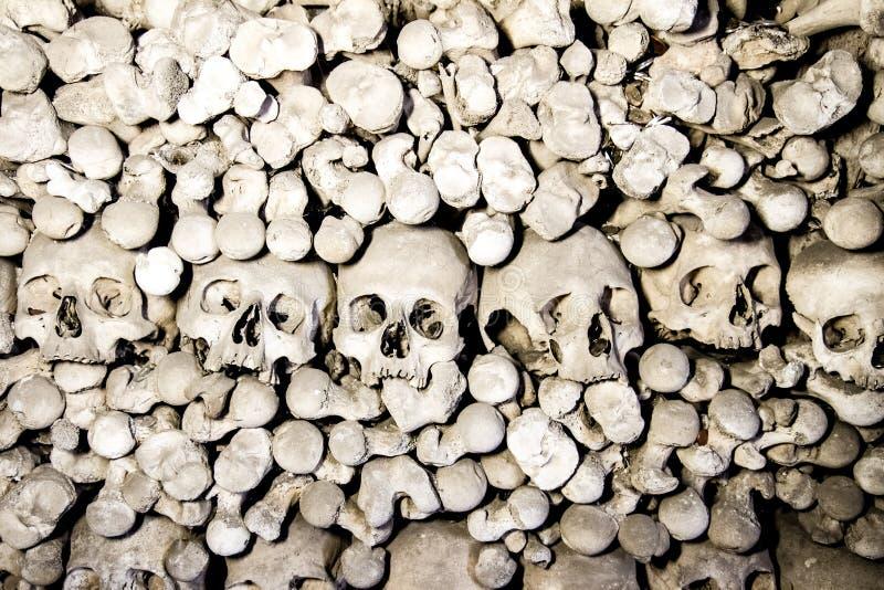 L'ossuaire de Sedlec dans Kutna Hora, République Tchèque image stock