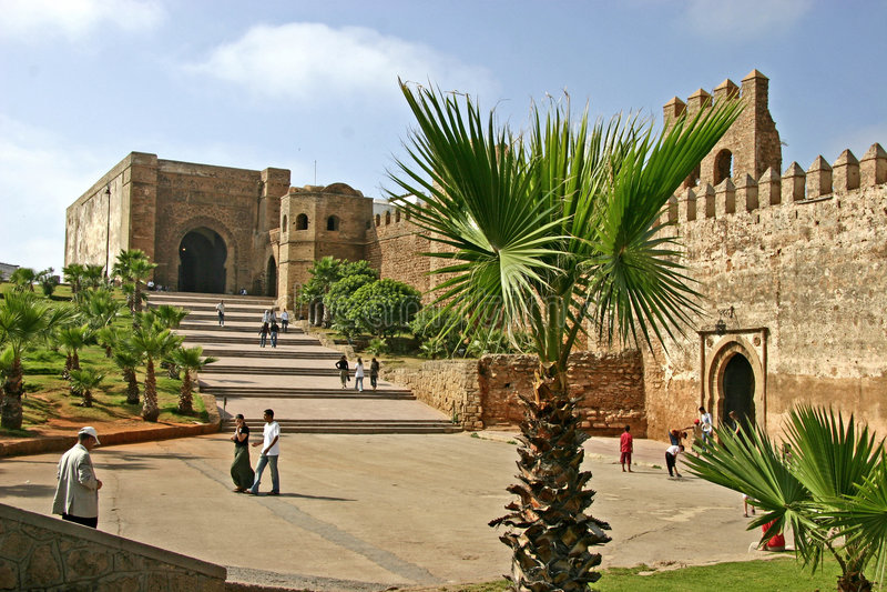 l'Ouida Kasbah Rabat   photo libre de droits
