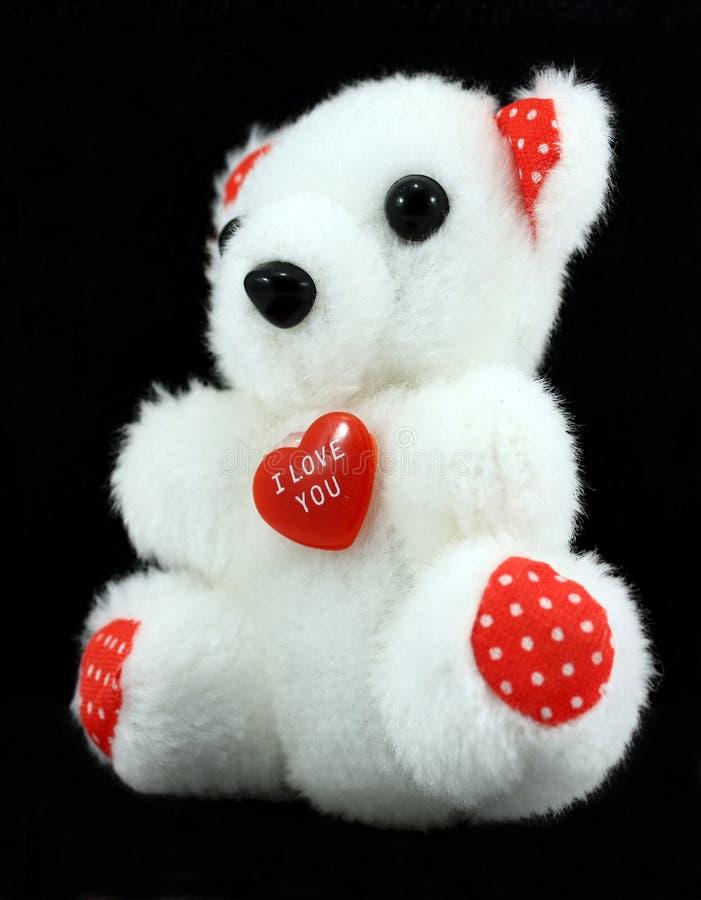 L'ours de Valentine photo libre de droits