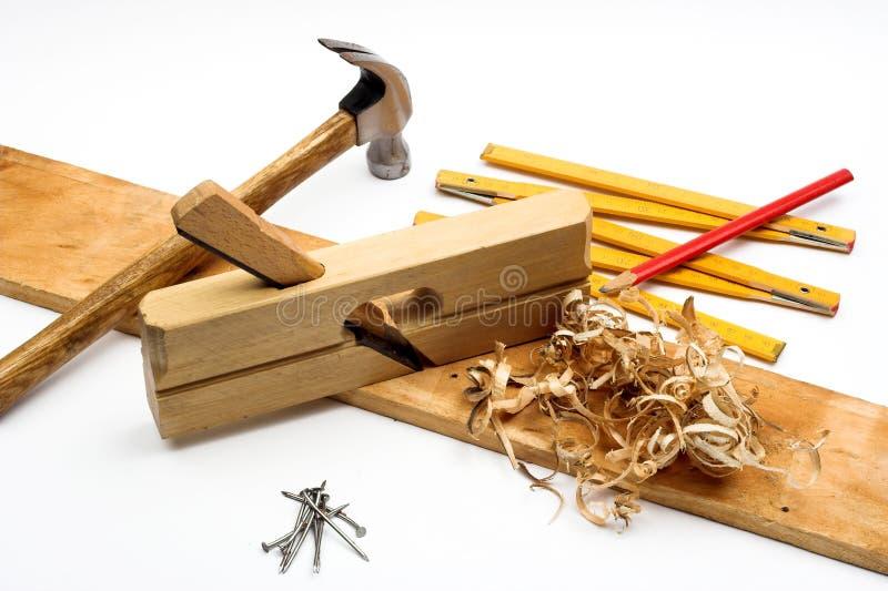 L'outil du charpentier photo stock