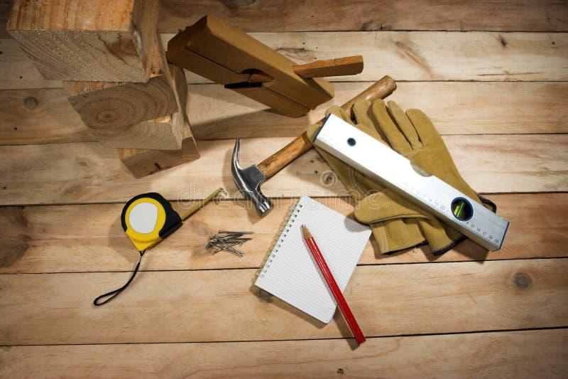 L'outil du charpentier images libres de droits