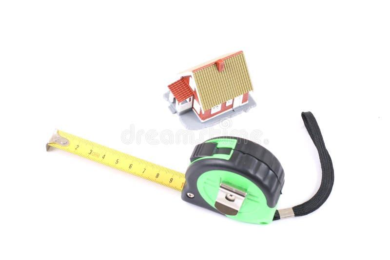 L'outil pour la mesure de la longueur et peu hous photographie stock libre de droits