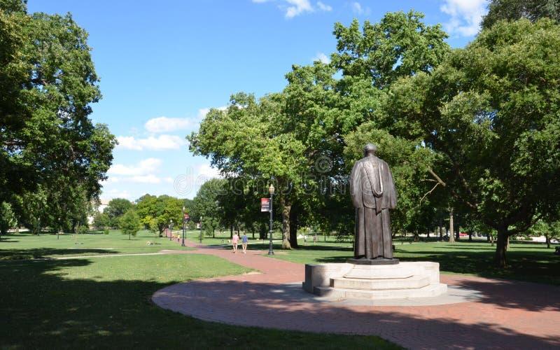 L'ovale a Columbus, OH fotografia stock