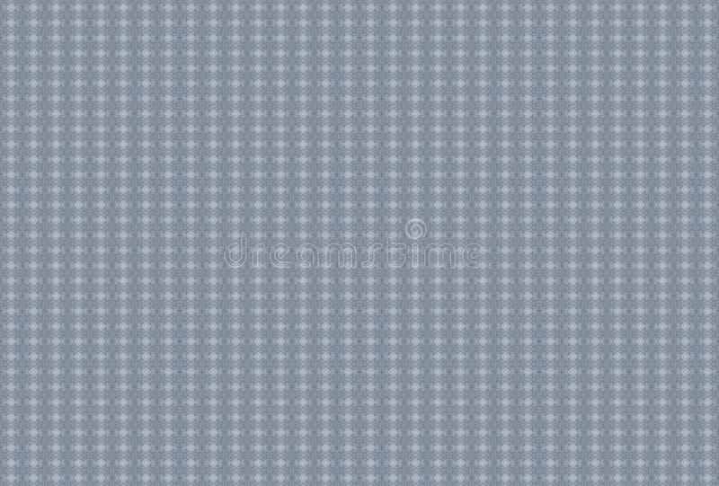 L'ovale gris de petites cellules de mosaïque de fond petites s'est plié dans une place pliée illustration de vecteur