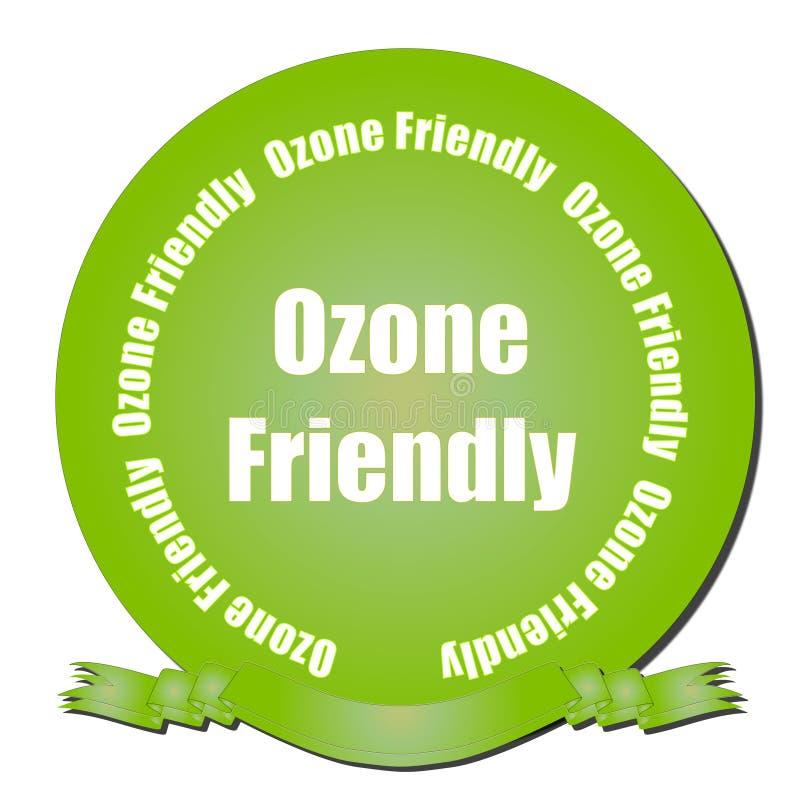 l'ozone amical illustration de vecteur