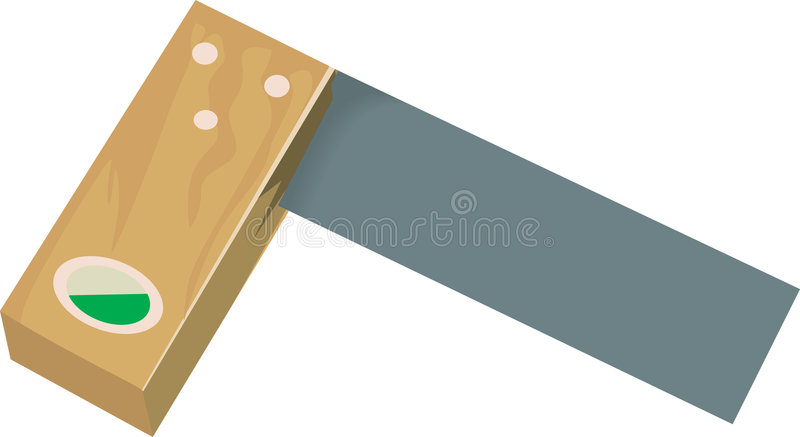 L quadrato   illustrazione di stock