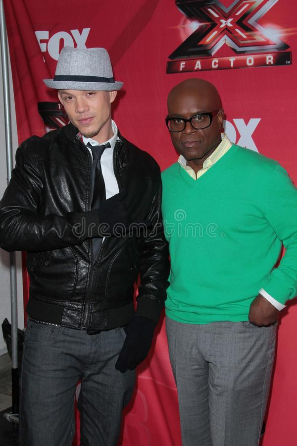 L.A. Reid, Chris Rene,   photographie stock
