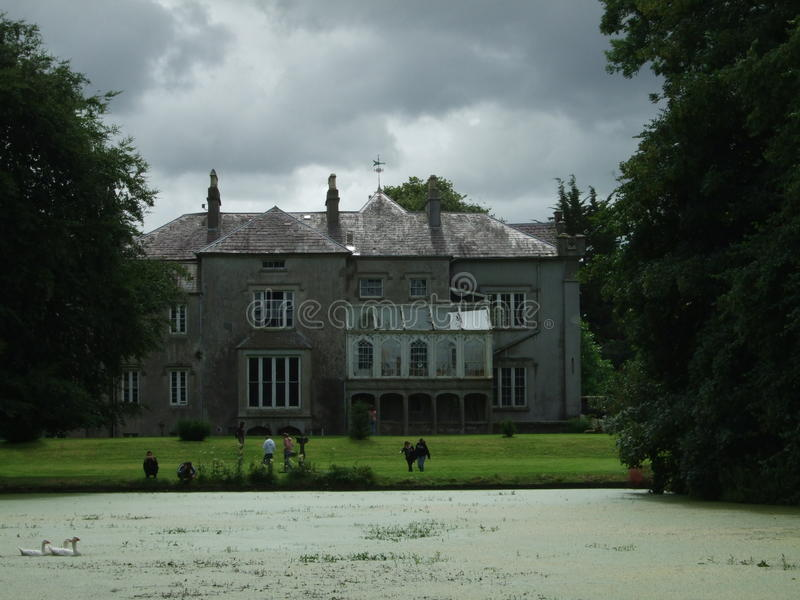 L'Repubblica Irlandese, monumento storico, Nizza vista, Camera di sogno, lago fotografia stock libera da diritti