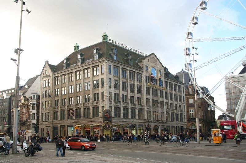 L$signora Tussauds Amsterdam fotografia stock