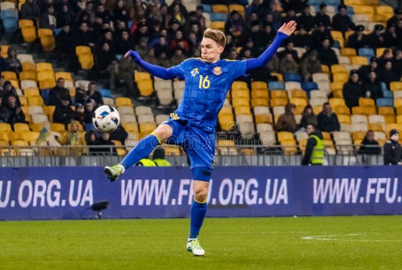 L'Ucraina contro Galles fotografie stock